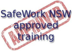 SafeWork NSW Approved training